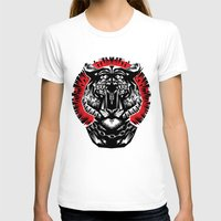 tiger T-shirts featuring Tiger by Ali GULEC