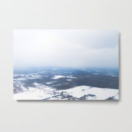 Arriving In Michigan Metal Print