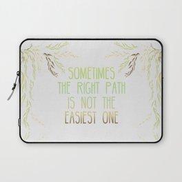 Grandmother Willow's Words Laptop Sleeve
