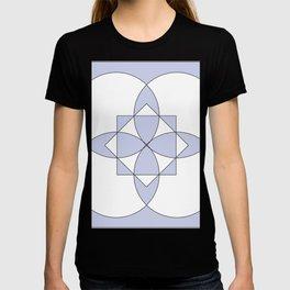 LIGHT PURPLE DESIGN Abstract Art T-shirt