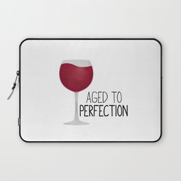 Aged To Perfection - Wine Laptop Sleeve