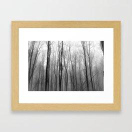 winter blight Framed Art Print
