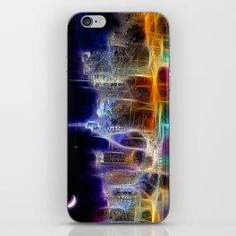 Starry Night New York City iPhone Skin