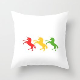 "A Perfect Gift For Anyone Who Loves Waiting Or Being On Standby ""Unicorn Mode On Standby"" T-shirt Throw Pillow"
