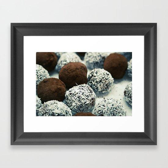 cookies Framed Art Print
