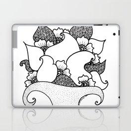 Amphora - White Black Laptop & iPad Skin