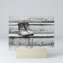 Work Boots 2 Mini Art Print