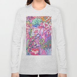 Trippy Forest Full Version Long Sleeve T-shirt