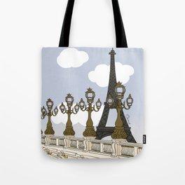 Paris, mon amour Tote Bag