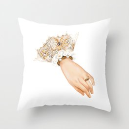 Chequer's Ring of Elizabeth I Throw Pillow