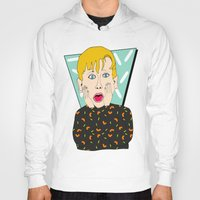 home alone Hoodies featuring Home Alone by Elena Éper