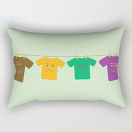 Hanging Tee Family Rectangular Pillow