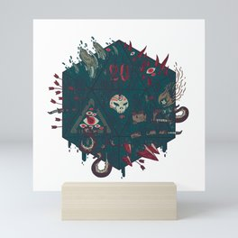 Die of Death Mini Art Print