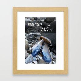 Find Your Bliss Framed Art Print
