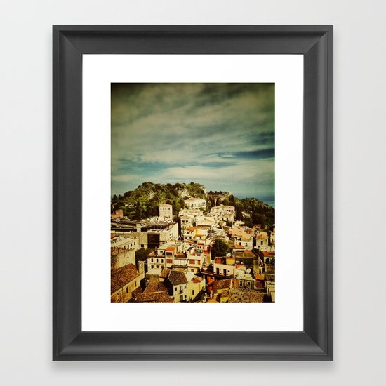 Taormina Framed Art Print