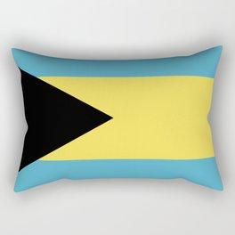 Bahamas flag emblem Rectangular Pillow