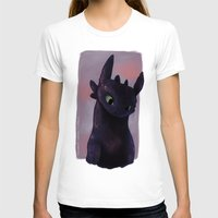 toothless T-shirts featuring Toothless by tsunami-sand