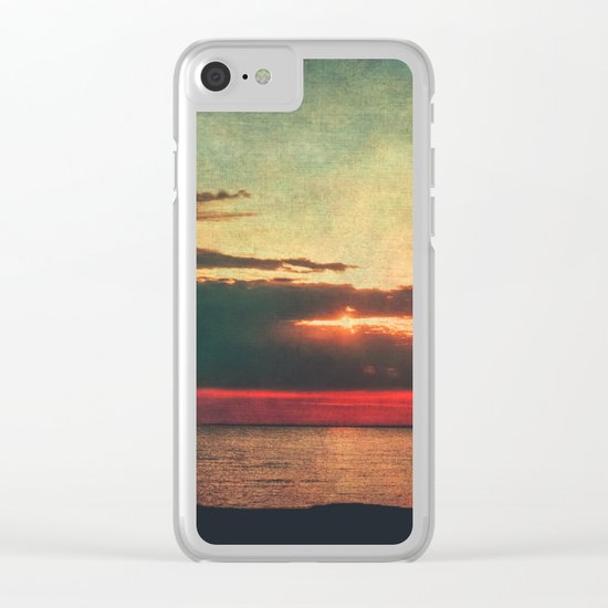 Let Me Dream Clear iPhone Case