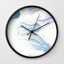 Creatures of the Sea Wall Clock