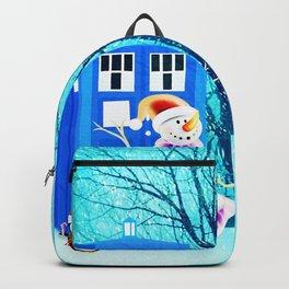 Tardis of Christmas Backpack
