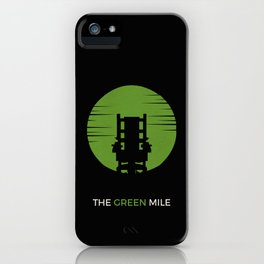 The Green Mile Minimalist iPhone Case