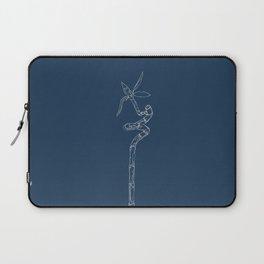 Bamboo Blueprint Laptop Sleeve