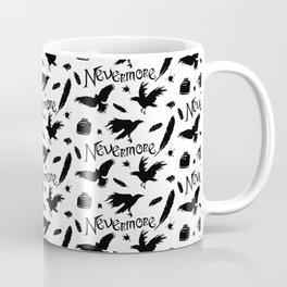 Edgar Allen Poes The Raven Nevermore Illustration Coffee Mug