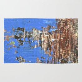 Blue Pond Rug