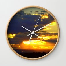 Sunset Splendor Wall Clock