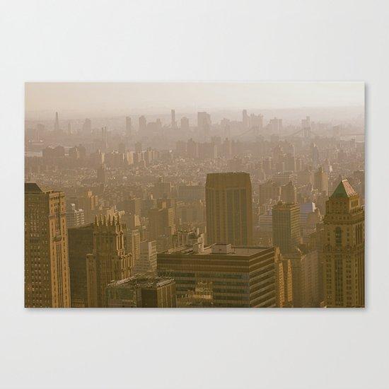 Old Gotham Canvas Print