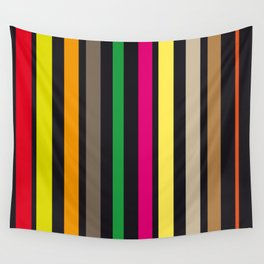 bold stripes and color Wall Tapestry