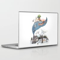 camus Laptop & iPad Skins featuring Invincible Summer by Brooke Weeber