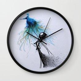 The Sweet Bird of Happiness Wall Clock