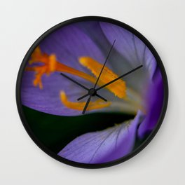 Flower Photography by Michelle Gallagher Wall Clock