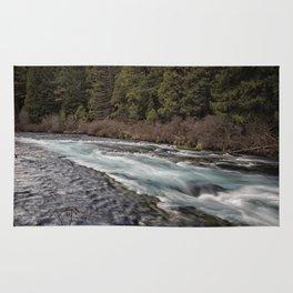 Metolius River near Wizard Falls Rug