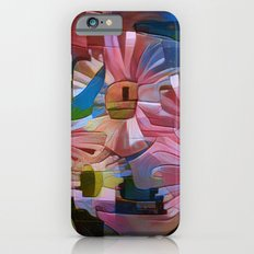 A Daisy Abstract iPhone 6s Slim Case