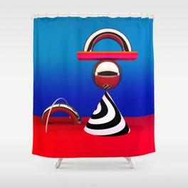 modern still life Shower Curtain