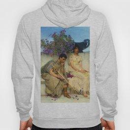 "Sir Lawrence Alma-Tadema ""An eloquent silence"" Hoody"