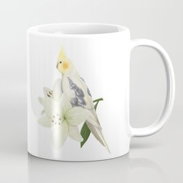 Pied Cockatiel Coffee Mug
