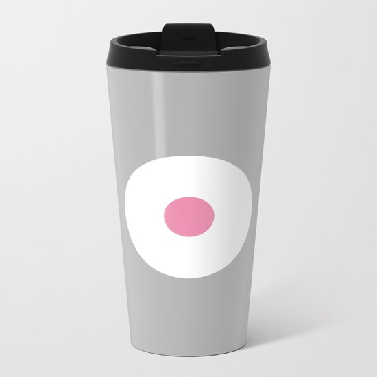 The Point is Pink Metal Travel Mug
