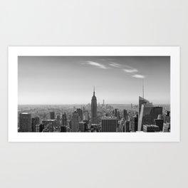 New York City - Empire State Building Art Print