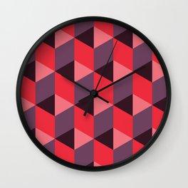 Queen of Hearts [isometrix 013] Wall Clock