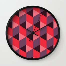 Queen of Hearts [isometrix 013] Wall Clock