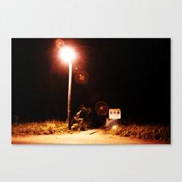Bleeding In The Dark Canvas Print
