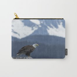 Bald Eagle of Resurrection Bay, No. 1 Carry-All Pouch