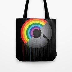 Rainbow Album  Tote Bag
