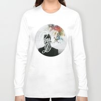 panic at the disco Long Sleeve T-shirts featuring Panic! at the disco round picture Too weird to live, too rare to die (non t) by Van de nacht