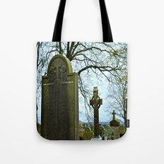 The Graveyard at Monasterboice Tote Bag