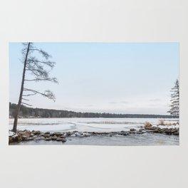Headwaters in November Rug