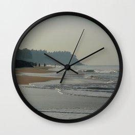 Black Beach Varkala Wall Clock
